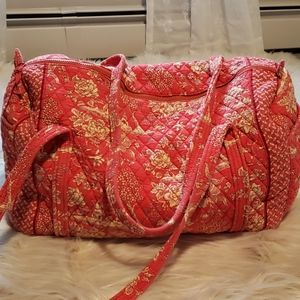 Quilted duffle